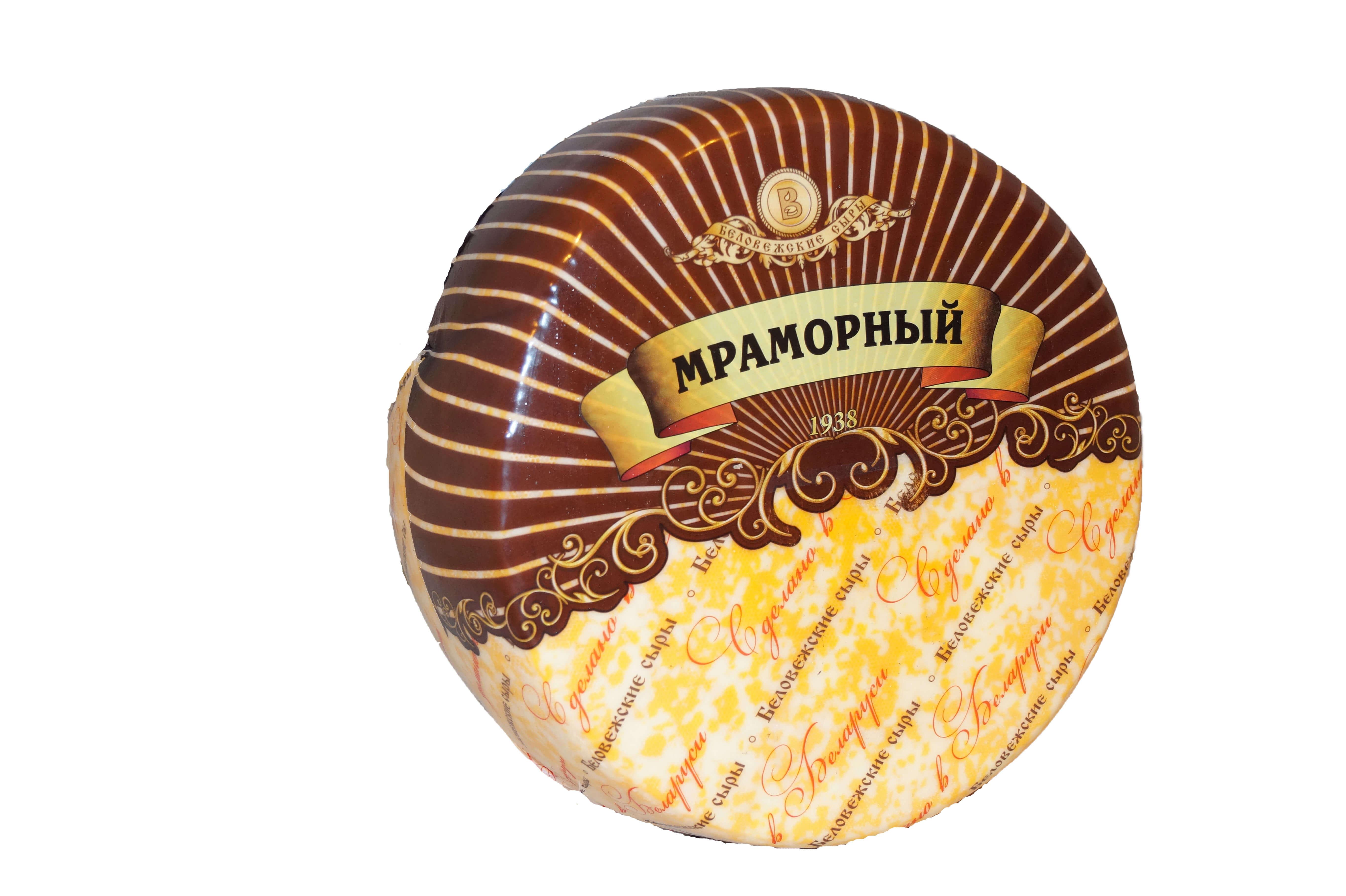 яяМраморный (Беловежские сыры) круг