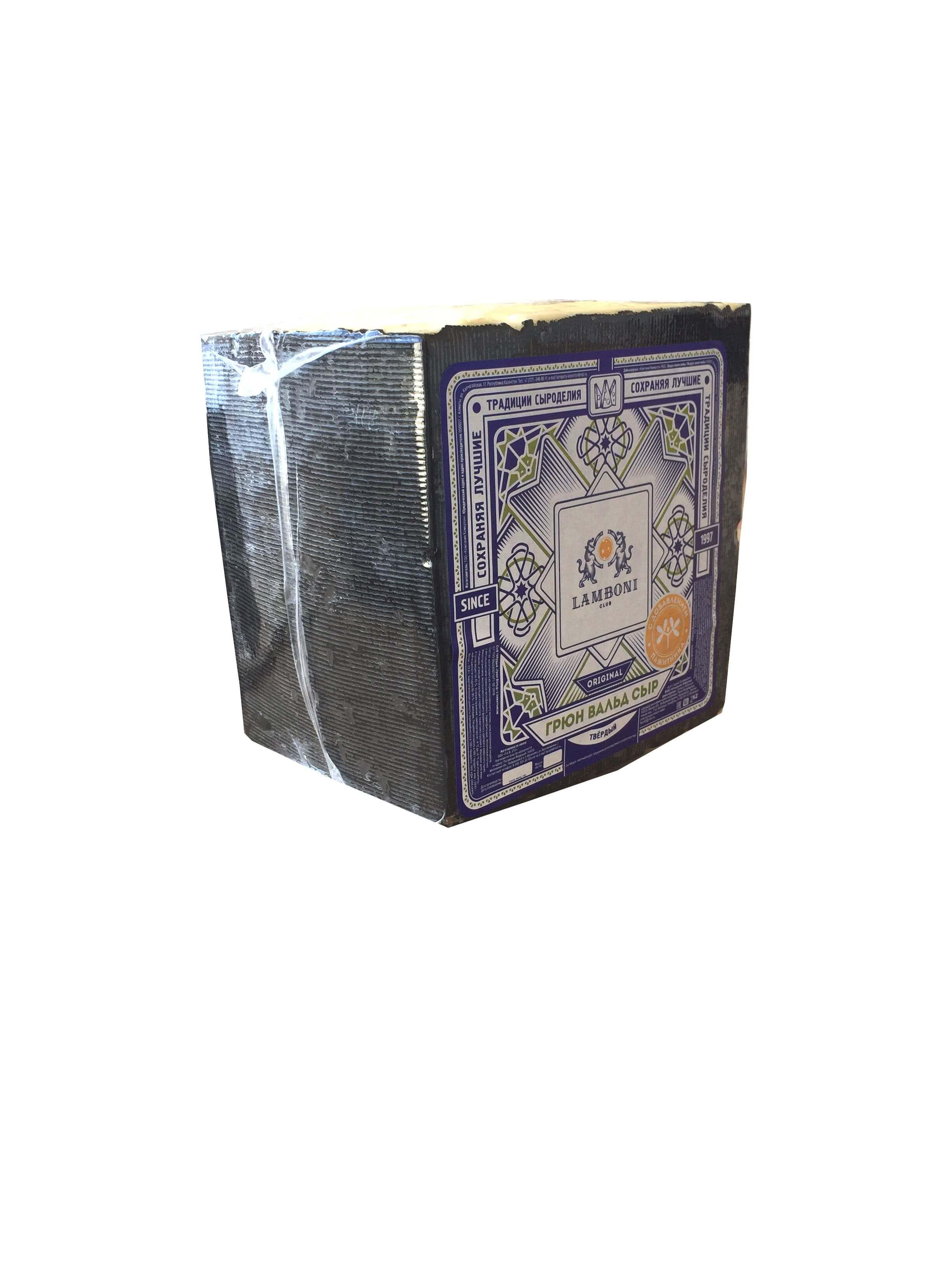 Грюн Вальд с пажитником (Казахстан) кубик